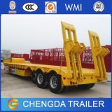 3 Wellen 60 Tonnen 80tons Lowboy halb Schlussteil-für Verkauf