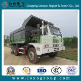 HOWO 371HP 70tons鉱山のダンプカートラック