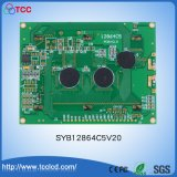 Syb128X64 C5V20 LED 백색 황록색 또는 파란 LCD 디스플레이 128*64LCD