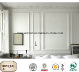 Joint à doigts apprêté Panneau mural décoratif en bois à haute qualité