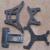Folha 3K Matte da fibra do carbono para as peças da motocicleta