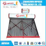 Projetor de piscinas de alta pressão compacta de cobre Coil aquecedor solar de água