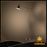 Bevindende Lamp van het Wapen van de Driepoot van de Vloer van het smeedijzer de Flexibele (KABS9098)