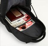 Sac noir frais de grande capacité de sac à dos de sac à dos simple d'ordinateur de la mode de 2017 hommes neufs