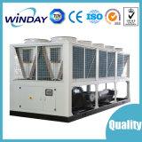 Refrigerador agua-aire certificado alto del tornillo del glicol industrial