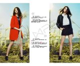 Comercio al por mayor de ventas a largo plazo la calidad de la existencias de la marca de ropa de mujer