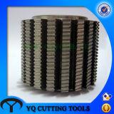 錫コーティングが付いているHSS 2gt/8gtのタイミングベルトプーリー歯切り工具
