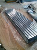 Colorear el metal revestido que cubre la hoja acanalada de la azotea de PPGI/PPGL