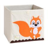 Los niños Multi-Pattern plegable de dibujos animados la caja de almacenamiento de juguetes de tela Oxford