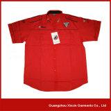 Custom Design Black Short Sleeve Racing Shirt Manufacturer (S40)
