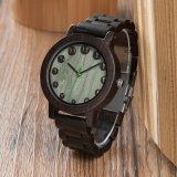 Mens-hölzerne Uhr-hölzerne Quarz-Uhren