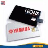 Logotipo personalizado desechables de tarjeta de crédito USB Flash Drive USB Pendrive