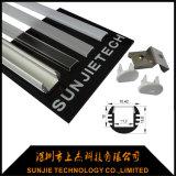 Suspensa LED redonda de alumínio de extrusão de canal para luz de LED