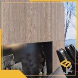 Noyer la mélamine Impregnatde papier décoratif pour le mobilier, l'étage