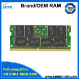 2018 neuer Ankunft DDR4 16GB 2400MHz 260pins Cl15 1.2V 1024MB*8 16chips RAM