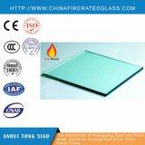 Incêndio - vidro resistente com relatório de teste do En BS