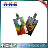 Цветная печать кредитной карты USB-Business Card