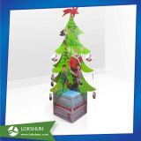 선전용 크리스마스 나무 골판지는 진열대를 미룬다
