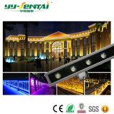 Indicatore luminoso impermeabile esterno della rondella della parete di 24W LED per illuminazione di architettura