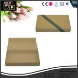 Kundenspezifischer Paar-Schwarz-Leder-Ablagekasten (6036)