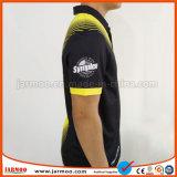 Chemise de polo uniforme de logo des hommes faits sur commande d'impression