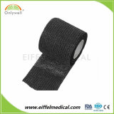 Échantillon gratuit d'excellente qualité élastique confortable Sport Aventure Bandage cohésif