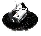 140lm/W UFO LED高い湾Ra82 MeanwellドライバーIP65黒い80W高品質の高い内腔
