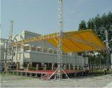Torre de aluminio de la elevación del braguero, braguero de aluminio del estudio para la venta