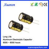 De Elektrolytische Condensator van de Fabriek 470UF van Xuansn 10V Met lange levensuur
