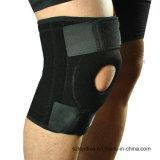 Протектор спорта подгонял регулируемую расчалку поддержки колена неопрена