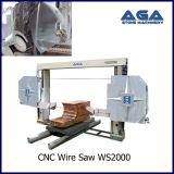 CNC de Scherpe Machine van de Draad om Graniet/Marmeren Blcok (WS2000) Te zagen