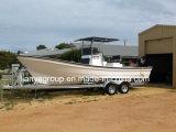 Liya 25FT Panga Bateau de pêche en fibre de verre Bateau de pêche en fibre de verre