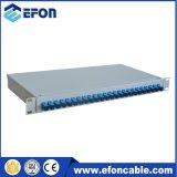 광섬유 장비 선반 마운트 결합과 종료 패치 패널