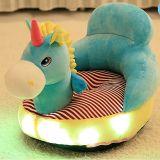 Großhandelsbeleuchtung-Musik-führender Stuhl-Aufenthaltsraum-Couch-Lehnsessel des plüsch-LED