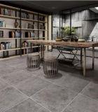 Azulejo esmaltado rústico 60X60 de la porcelana del color gris del material de construcción