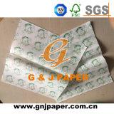 Gute Stärke gedrucktes fettdichtes Verpackungs-Papier für die Nahrungsmittelverpackung