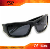 Beschermende Glazen van het Oog van de Weerstand van het Effect van de douane de Anti UV Stofdichte Hoge Onverbrekelijke Lens Ontsproten