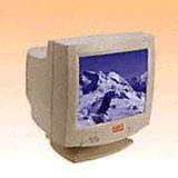 monitor di colore di 15 pollici