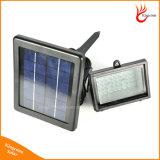 Lampe extérieure actionnée solaire imperméable à l'eau de pelouse de jardin de cour du projecteur 45LED