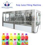 Monobloque automático de jugo de 3 en 1 de la máquina de llenado de botellas PET