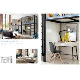 Schlafzimmer-Möbel-starkes Metallkoje-Bett mit Schreibtisch