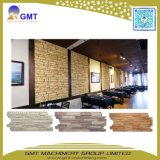 Línea plástica de la protuberancia del panel de apartadero del modelo del ladrillo de la piedra del vinilo del PVC