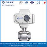 3 PC 2 pulgadas de agua eléctrico de control de flujo de la válvula de bola