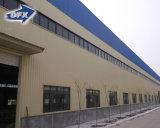 China-Zubehör-freier Entwurfs-vorfabrizierter Stahlkonstruktion-Hall-Werkstatt-Aufbau