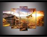 Het frame Spel van Af:drukken HD 5PCS van de Kunst die van het Canvas van Daenerys Targaryen van Tronen het Moderne Schilderen van het Beeld van de Kunst van de Muur van het Decor van het Huis schilderen