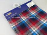 Franela teñida hilado con el hilado Fabric-Lz6131 del brezo