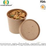 Papel kraft para llevar el tazón de sopa o Noddle