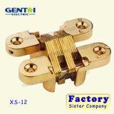 Золотой крест чашечной петли для корпуса и мебели