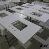 Superficie sólida previa al corte de una sola pieza lavabo del baño y cocina