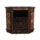 木製のホーム居間の家具TVのコンソールテーブル